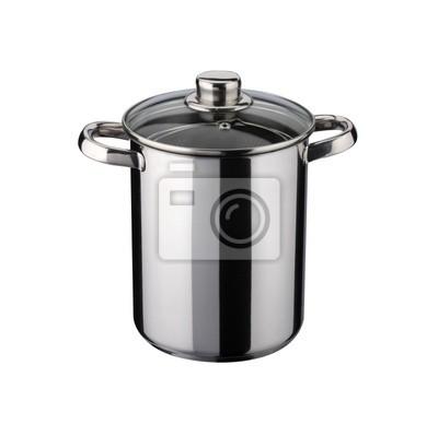 Przybory kuchenne: garnek do gotowania spaghetti