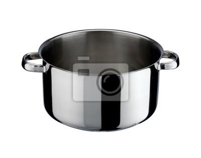 Przybory kuchenne: garnek ze stali
