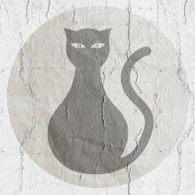Naklejka Przycisk kota