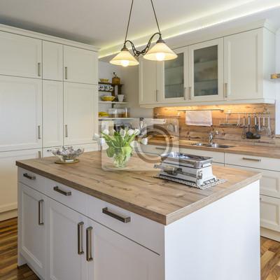 naklejka przytulna kuchnia kraj na wymiar nowoczesny. Black Bedroom Furniture Sets. Home Design Ideas