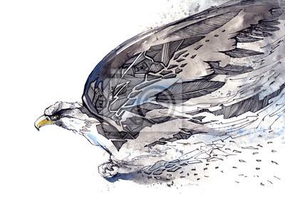 Naklejka ptak