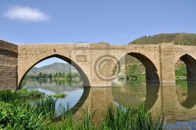 Naklejka Puente en el camino de Santiago
