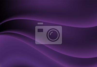 Purpurowy abstrakta krzywa i falisty wektorowy tło