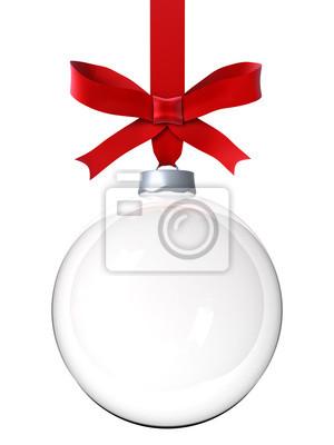 Naklejka Pusty świąteczna ozdoba