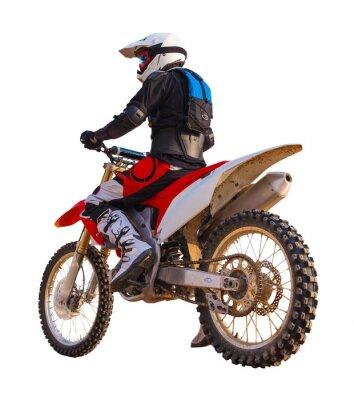 Naklejka racer na motocyklu, samodzielnie