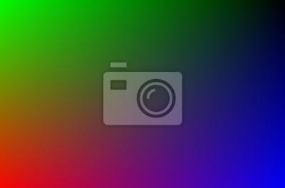 Naklejka Rainbow Kolor tła