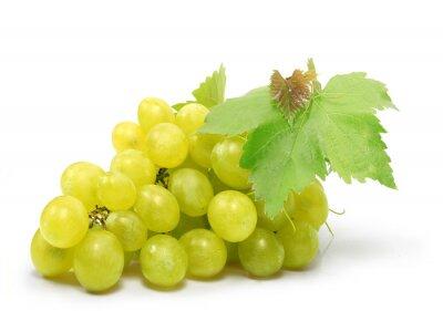 Naklejka raisin blanc