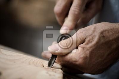 ręce rzemieślnika