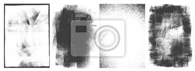 Naklejka Rectangular retro frames set