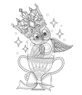 Naklejka Recznie Rysowane Ilustracji Szkic Dla Doroslych