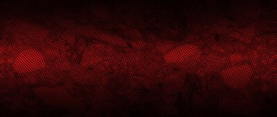 Naklejka red and black carbon fibre background and texture.