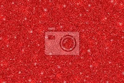 Naklejka Red glittering holiday texture. Vector