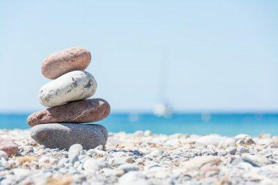 Naklejka Relaks na plaży