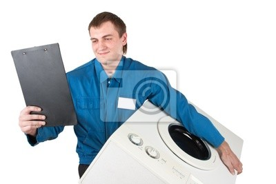Naklejka Repairman pralka serwisowanie
