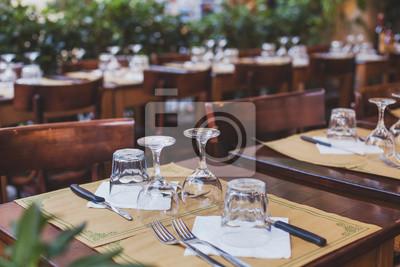 Naklejka restauracji we Włoszech