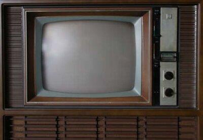 Naklejka Retro TV
