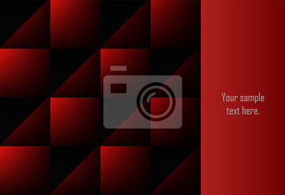 Rewolucjonistki i czerni abstrakcjonistycznej warstwy geometryczny tło dla karty, roczny raport biznesowy, plakatowy szablon