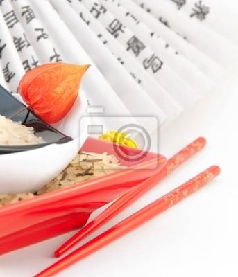 Rice w płytach ,japoński fan