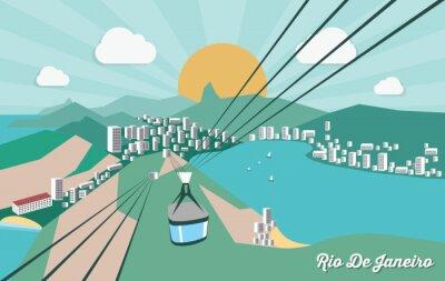 Naklejka Rio de Janeiro