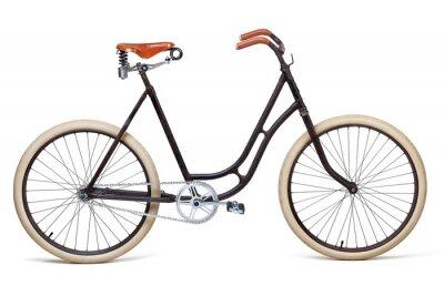 Naklejka Rocznika rower