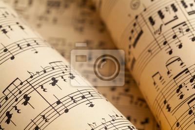 Naklejka Rolki muzyczne