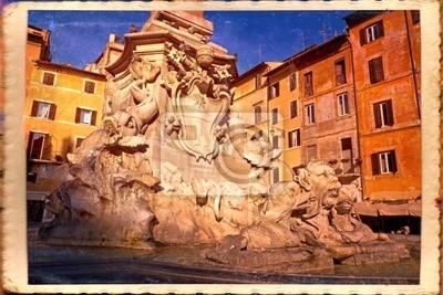 Roma, Fontana del Pantheon