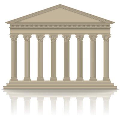 Naklejka Roman / grecki panteon