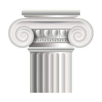 Naklejka Roman kolumnie lub grecki ilustracji wektorowych