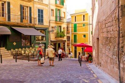 Naklejka Romantische Gasse in Palma de Mallorca