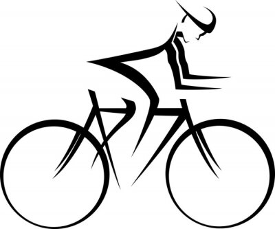 Naklejka Rower Racer Accent
