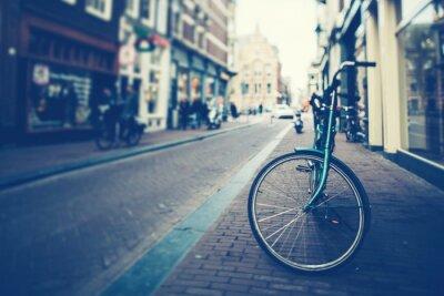 Naklejka Rowerów w Amsterdamie