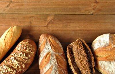Naklejka Różne rodzaje chleba