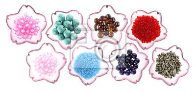 Naklejka Różnorodność koralików