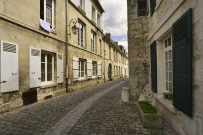 Naklejka Ruelle pl volets en Valois de Crépy, Picardie