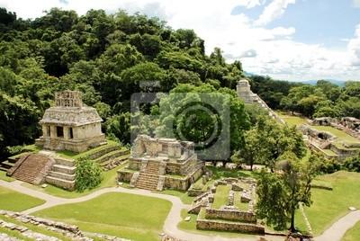 Naklejka Ruinas de Palenque