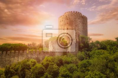 Naklejka Rumeli Fortress w Stambule, Turcja