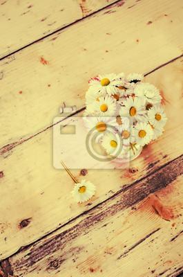 Naklejka rumianek kwiaty