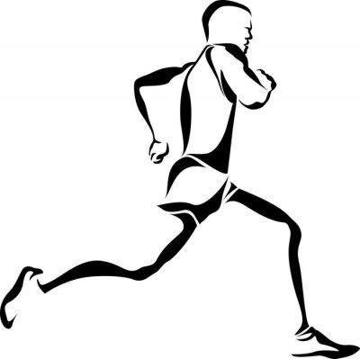 Naklejka Runner Accent