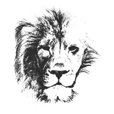 Naklejka rysowane ręcznie. ilustracji wektorowych