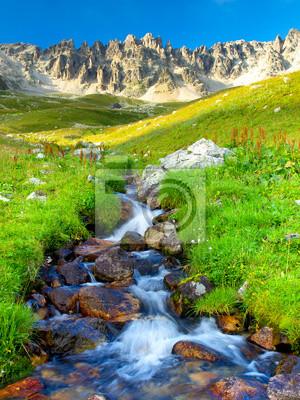 Rzeki i trawy. Skład natury