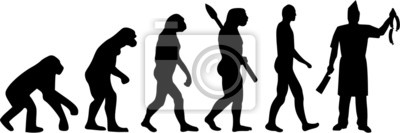 Naklejka Rzeźnik Evolution