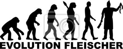 Naklejka Rzeźnik Evolution Fleischer