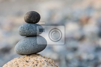 Naklejka Saldo kamienie tle