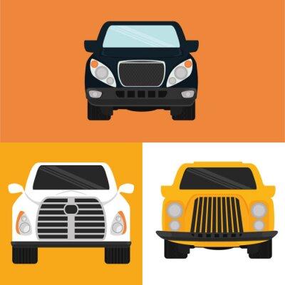 Naklejka Samochody projekt koncepcyjny