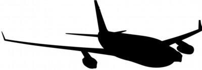 Naklejka samolot