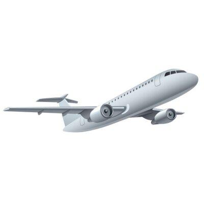 Naklejka samolot odrzutowy