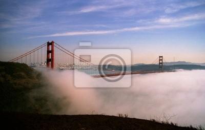 San Francisco Golden Gate Bridge im Nebel