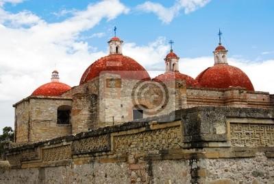 Naklejka San Pablo kościół, Mitla