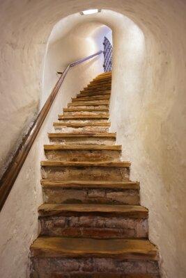 Naklejka Schody w zamku Kufstein - Austria