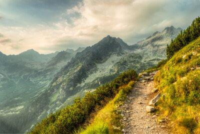Naklejka Ścieżka w górach